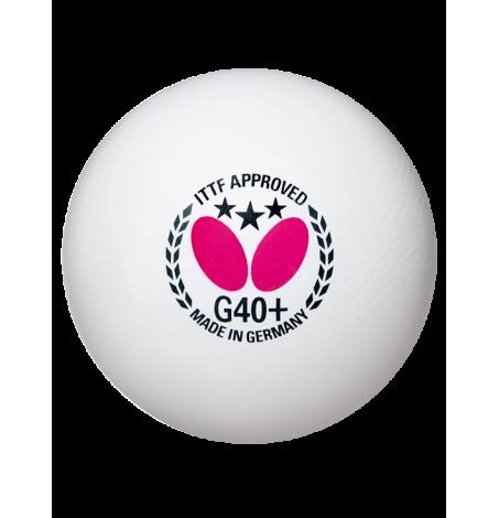 Мячи для настольного тенниса Butterfly *** G40+ x12