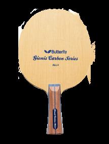 Ракетка для настольного тенниса сборная Butterfly Gionis Carbon ALL+, накладки Tenergy 05