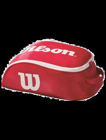 Сумка для обуви Wilson Tour IV ShoeBag (Красный/Белый)