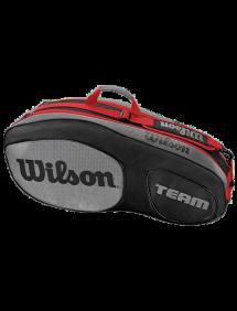Сумка Wilson Team III 6R (Черный/Серый)