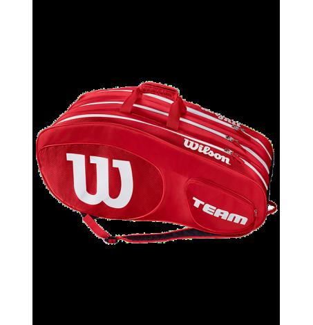 Сумка Wilson Team III 12R (Красный/Белый)