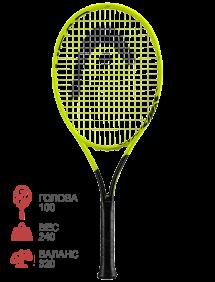 Ракетка для тенниса Head Graphene 360 Extreme Junior