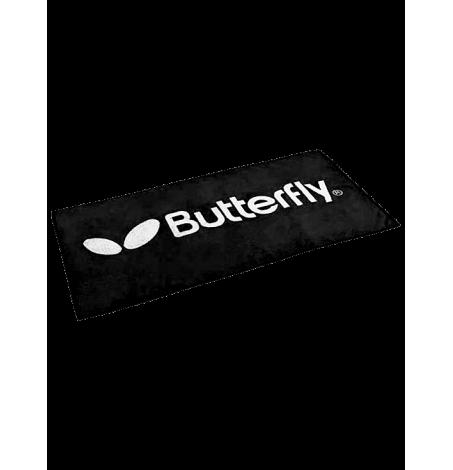 Полотенце Butterfly BigLogo 70x140 (Черное)
