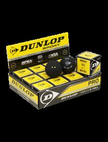 Мячи для сквоша Dunlop Pro 2x-Yellow 12 (12x1)
