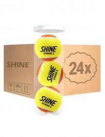Теннисные мячи Shine Stage 2 Orange 72 (24x3)