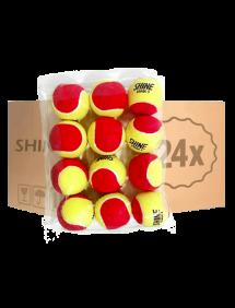 Теннисные мячи Shine Stage 3 Red 72 (6x12)