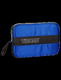 Чехол ракетки Tibhar Deluxe (Голубой/Черный)