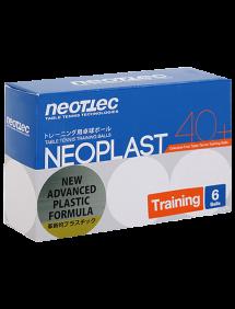 Мячи для настольного тенниса Neottec Neoplast Training 40+ x6