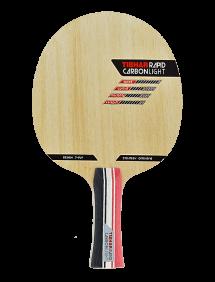 Ракетка для настольного тенниса сборная Tibhar Rapid Carbon Light, накладки Evolution EL-P