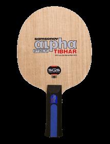 Ракетка для настольного тенниса сборная Tibhar Samsonov Alpha SGS, накладки Nimbus Sound